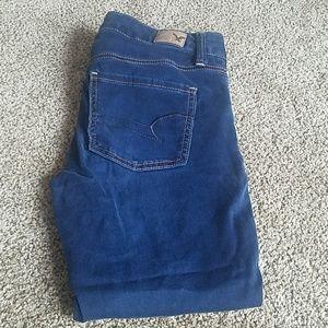 Jegging crop jeans